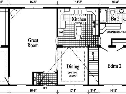 Basic Ranch Home Floor Plans Modern Ranch Style Homes