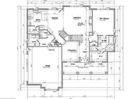 House Floor Plans with Dimensions 3D House Floor Plans