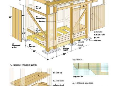 Outdoor Shower Enclosure Plans Wood Outdoor Shower Plans Free