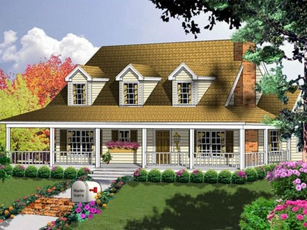 Cape cod style house plans cottage style house plans with for Cape cod cottage style house plans