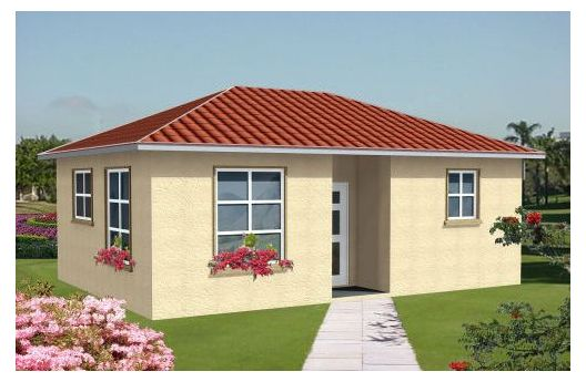One Bedroom Home Plans One-Bedroom Cottage Home Plans