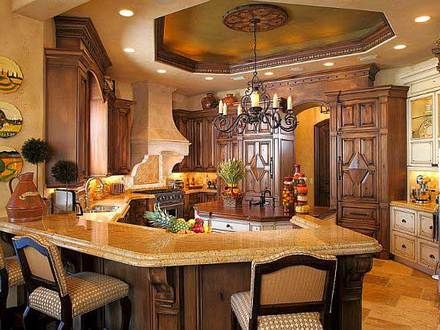 Rustic Kitchen Designs Mediterranean Kitchen Design