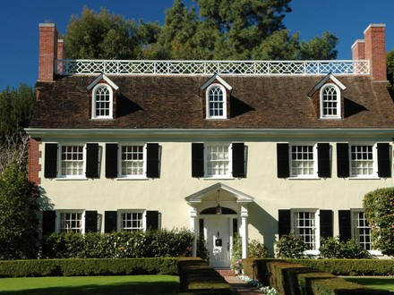 Colonial Style Home Architecture Victorian Style Architecture