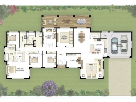 Floor Plans for Ranch Homes Coral Floor Plan Homes