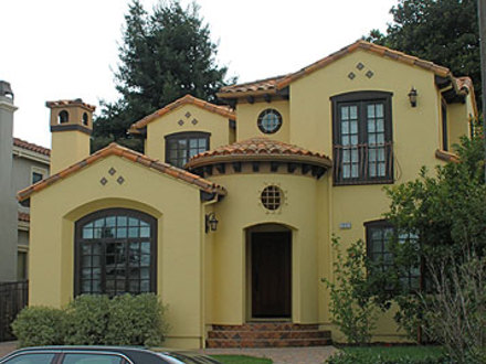 Spanish style home design contemporary spanish style home for Modern spanish style homes