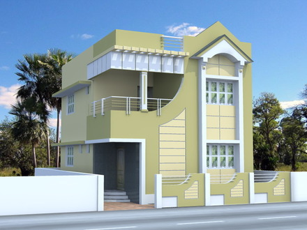 Tuscan House Elevation Designs Small House Elevation Design