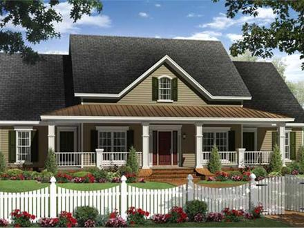 Unique Ranch House Plans Country Ranch House Plans