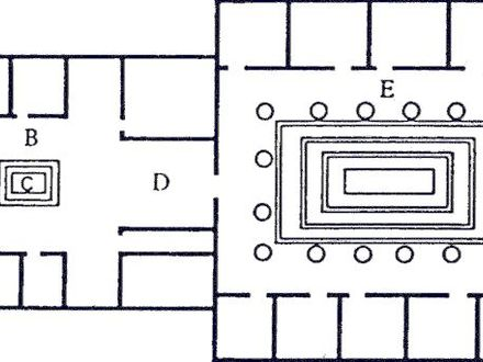 Ancient Roman House Floor Plan Ancient Roman Wall Murals