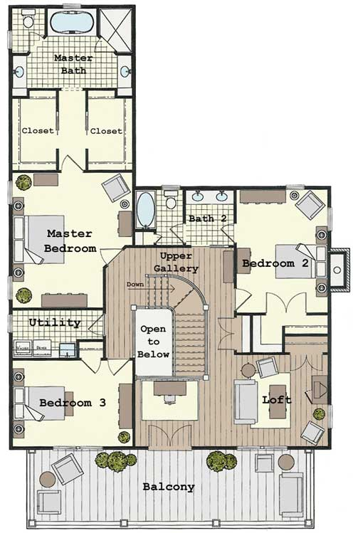 Colonial Home Floor Plans Traditional Colonial House Floor Plans