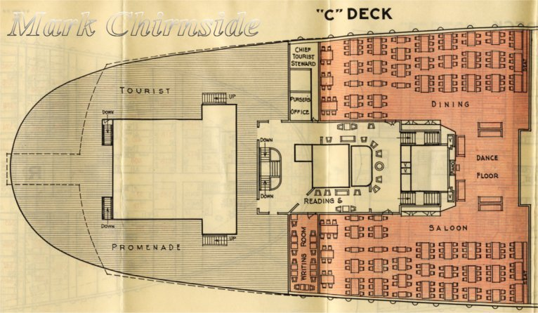 Cunard RMS Queen Mary 2 Majestic Deck Plans Britannic