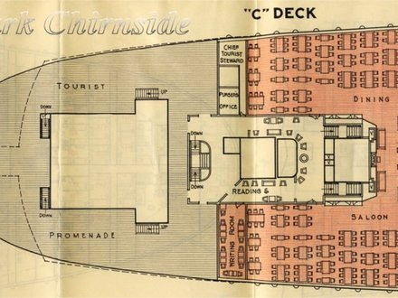 Queen Mary 2 Deck Plan 2016