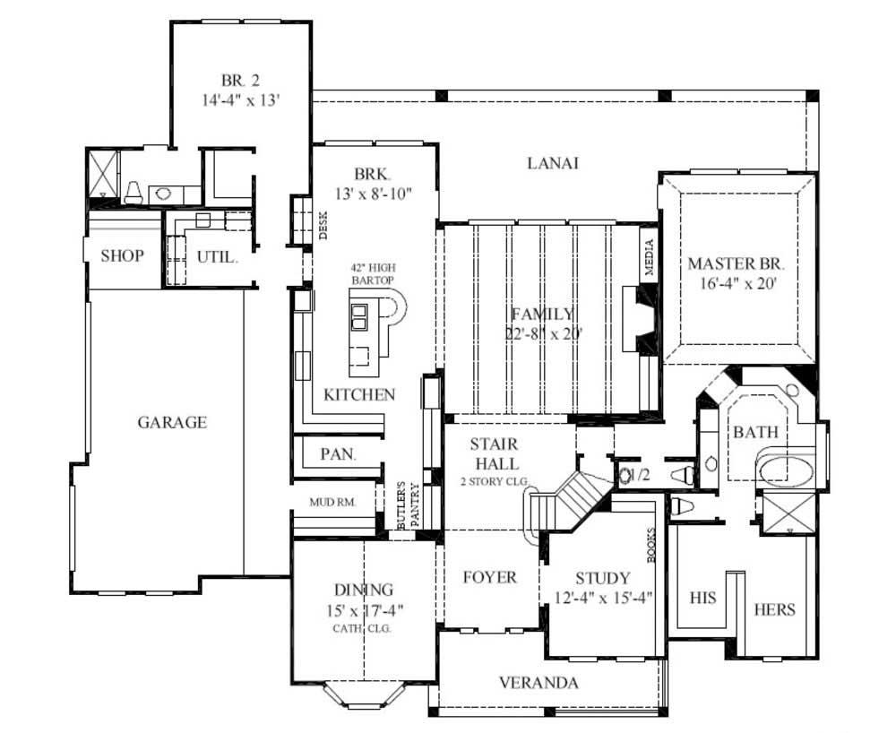 French country house plans country house plans the house for The house plan collection