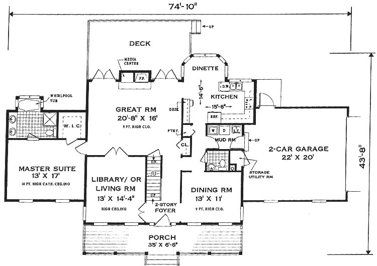 French Country House Plans eplanscom House Plan: Traditional Country Living
