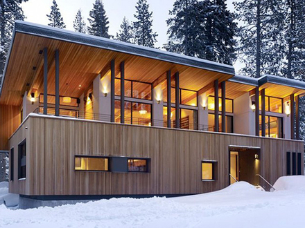 Mountain Home Plans Modern Cabins Modern Rustic Home Exteriors