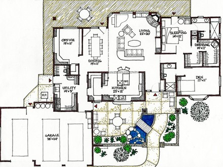 Rustic Luxury Mountain House Plans Modern Rustic House