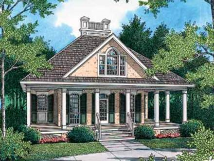 Small Plantation Homes Small Plantation House Plans