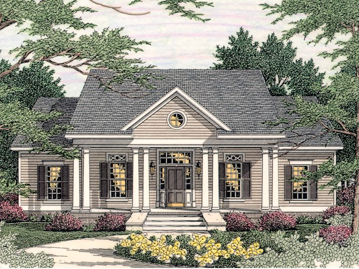 Small Southern Colonial House Plans Victorian House