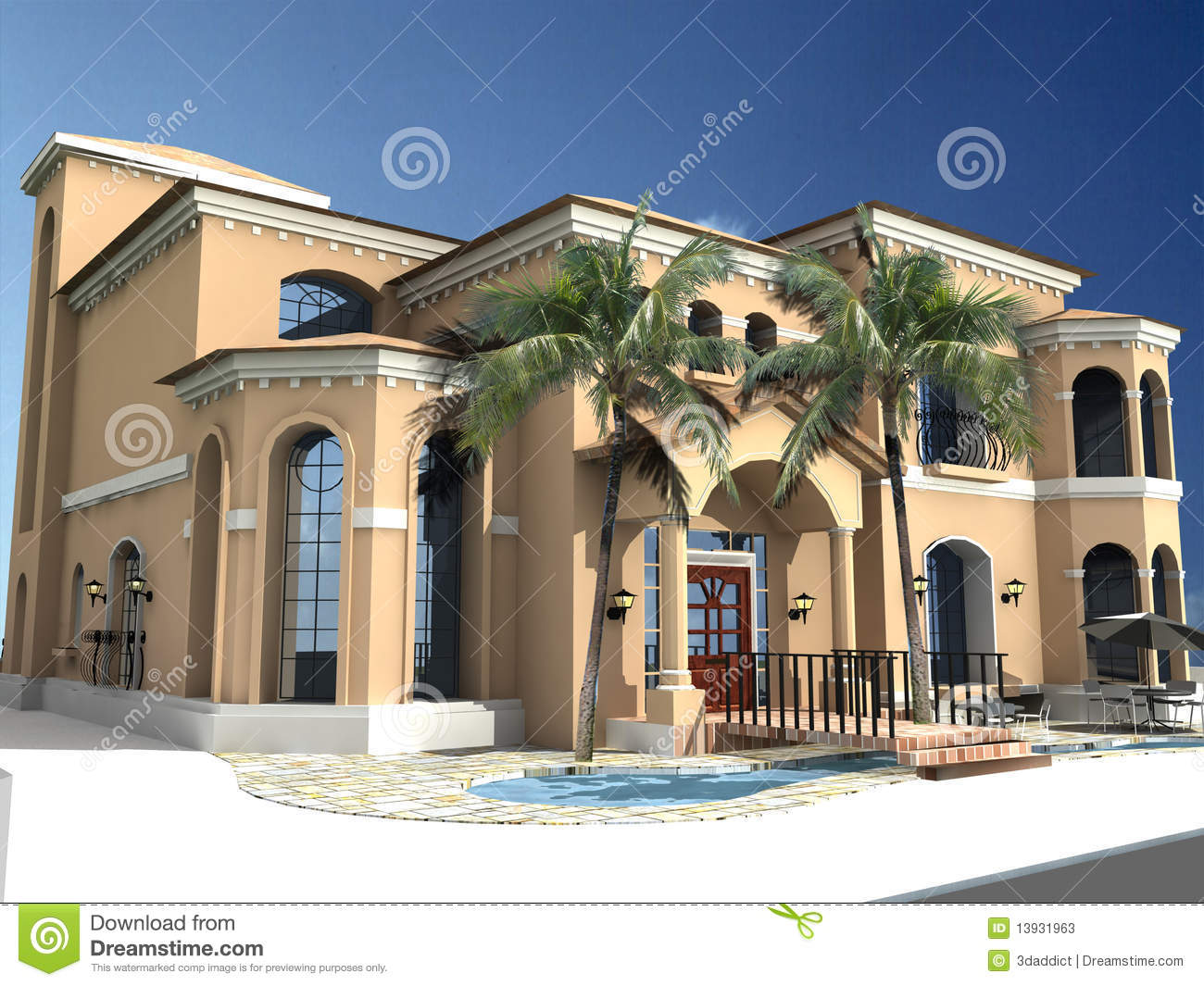 Spanish Style Homes With Courtyards Spanish Style Villa Spanish Villa Style Homes Treesranch Com