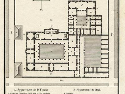 Ancient Greek House Plans Ancient Greek Clay Houses