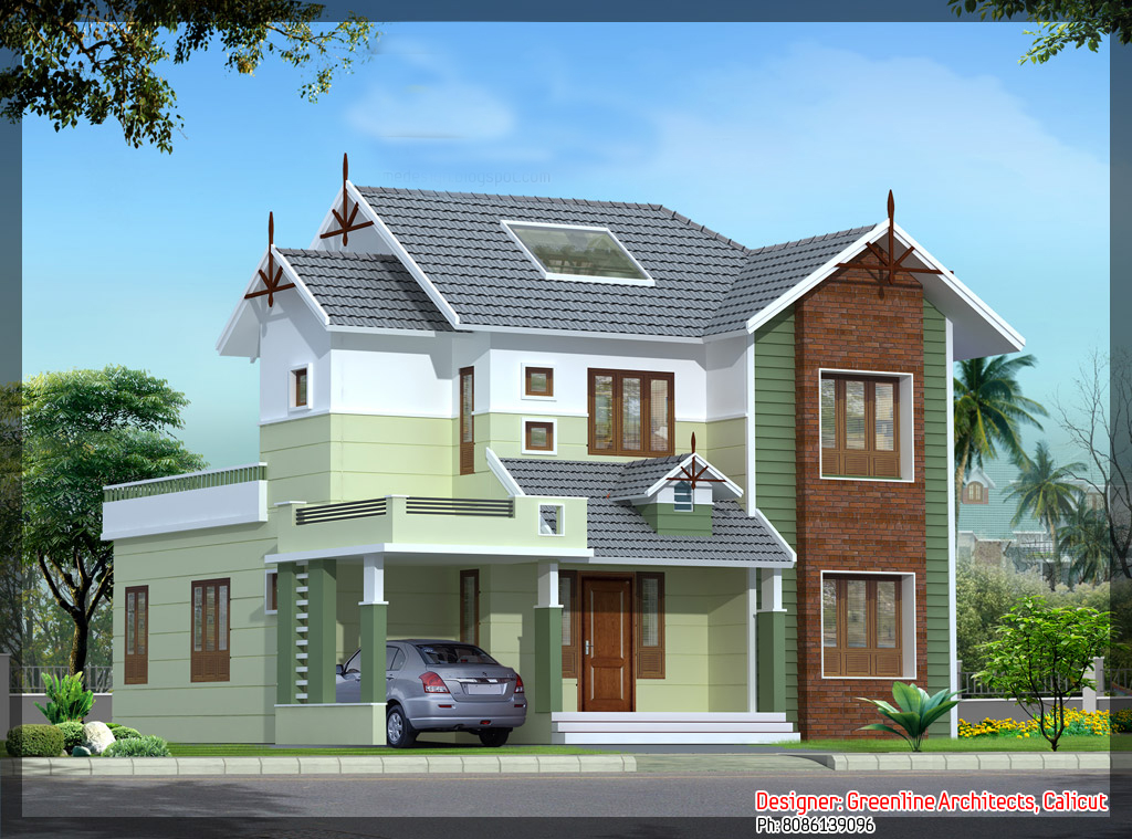 Kerala house photo gallery kerala house elevation design for House plans with photo gallery