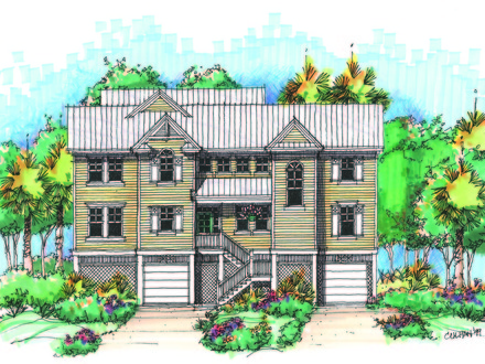 Vacation home plans images of vacation home lakefront for Vacation home plans waterfront