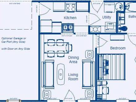 Modern 4 bedroom house plans simple 4 bedroom house plans for Low energy home designs