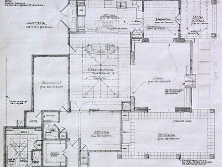 Adobe house plans with courtyard spanish hacienda house for Adobe hacienda house plans