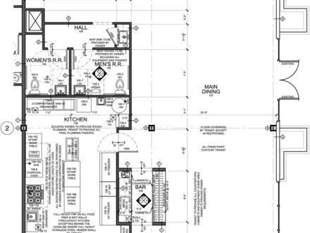 Small Restaurant Kitchen Floor Plan Restaurant Kitchen Floor Plans Examples