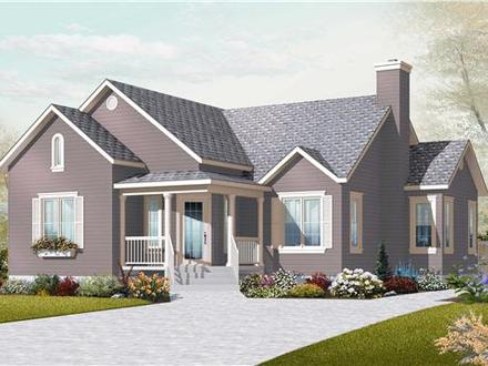 Small Two Bedroom House Plans Small Country House Plans