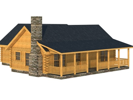 Building a Simple Log Cabin Simple Log Cabin Home Plans