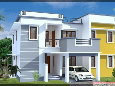 Modern Classical Residential Elevation Modern House Elevation Designs