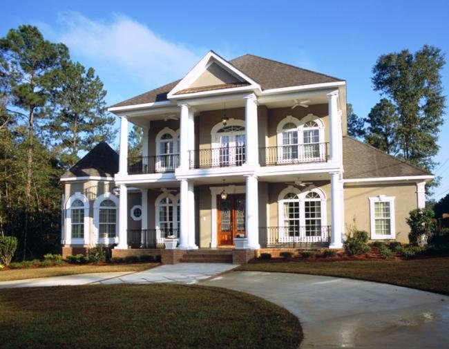 Ranch Style House Plans House Plans Colonial Style Homes ...