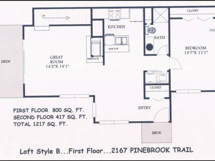 Studio Apartment Floor Plans Small Floor Plans with Loft