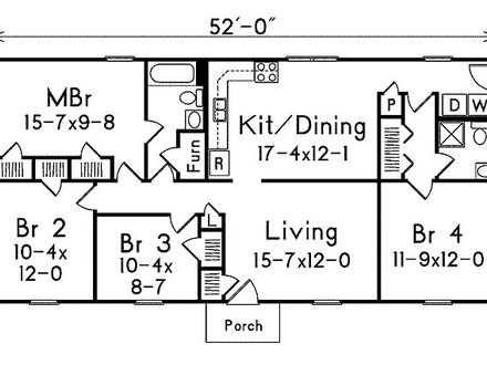 1300 Square Foot Floor Plans Square Inch