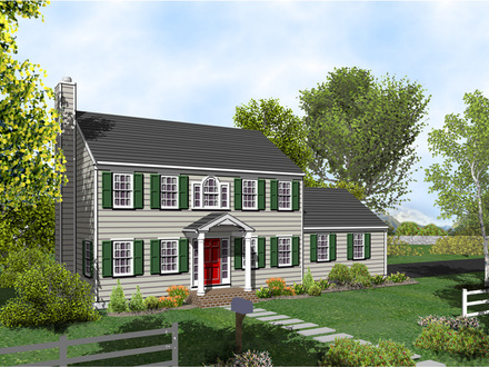 Colonial House Plans with Porches Colonial House Plans with Porches