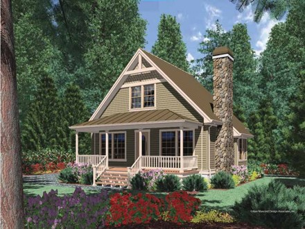 Cottage Cabin House Plans Cottage Style House Plans