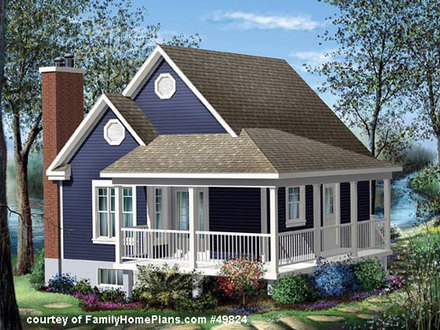 Cottage House Plans with Porches Southern Cottage House Plans