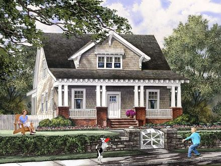 Craftsman Bungalow Cottage House Plans Craftsman Style Cottages