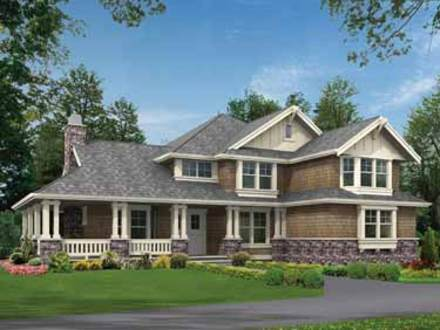 Craftsman House Plans with Wrap around Porch Modern Craftsman House Plans