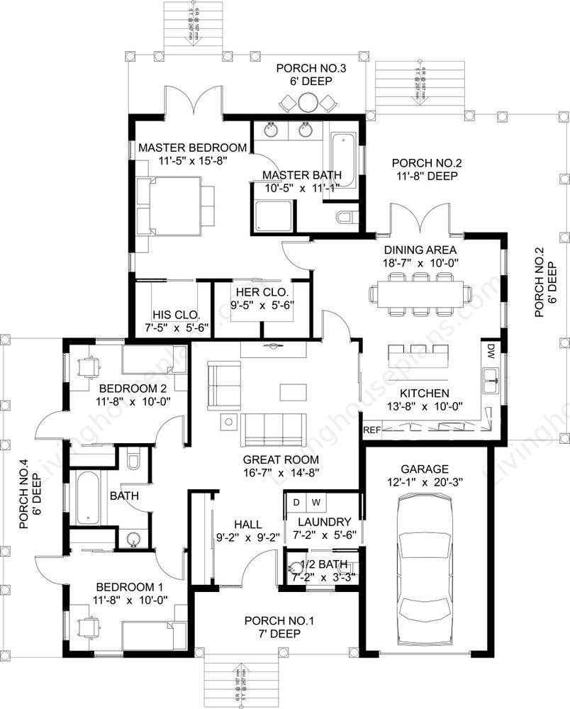 Home floor plan custom home floor plans home building for Custom built homes floor plans