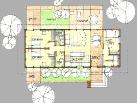 Mid Century Modern Furniture Mid Century Modern Homes Floor Plans