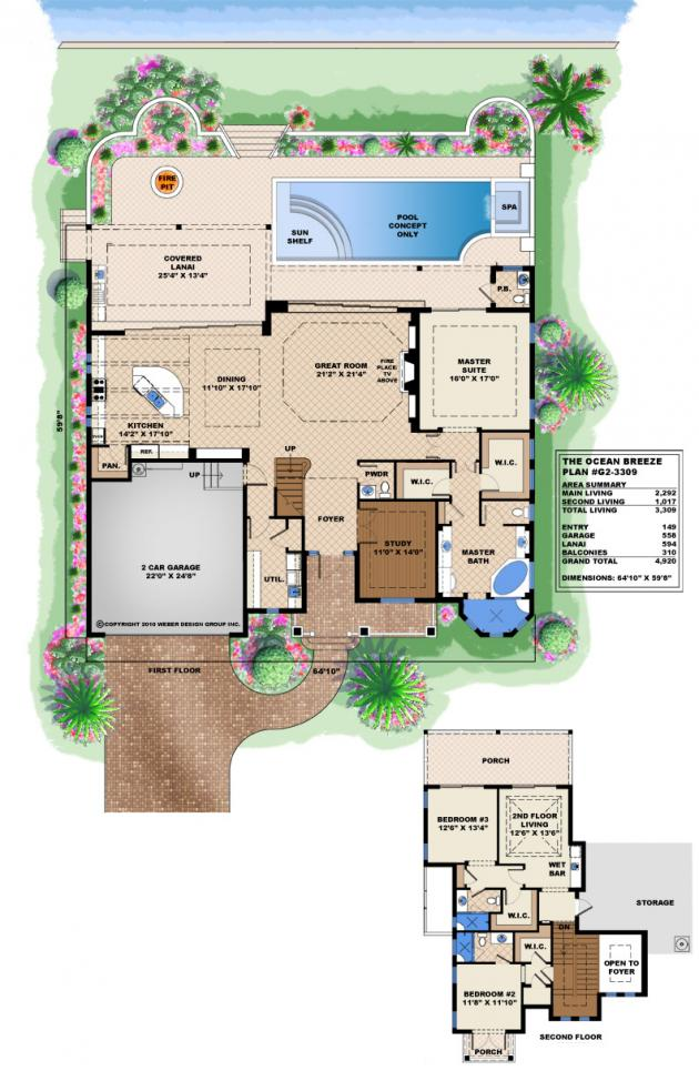 Waterfront modular home designs waterfront home designs for Ocean view home plans
