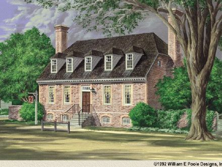 William e poole homestead william e poole colonial for William poole house plans