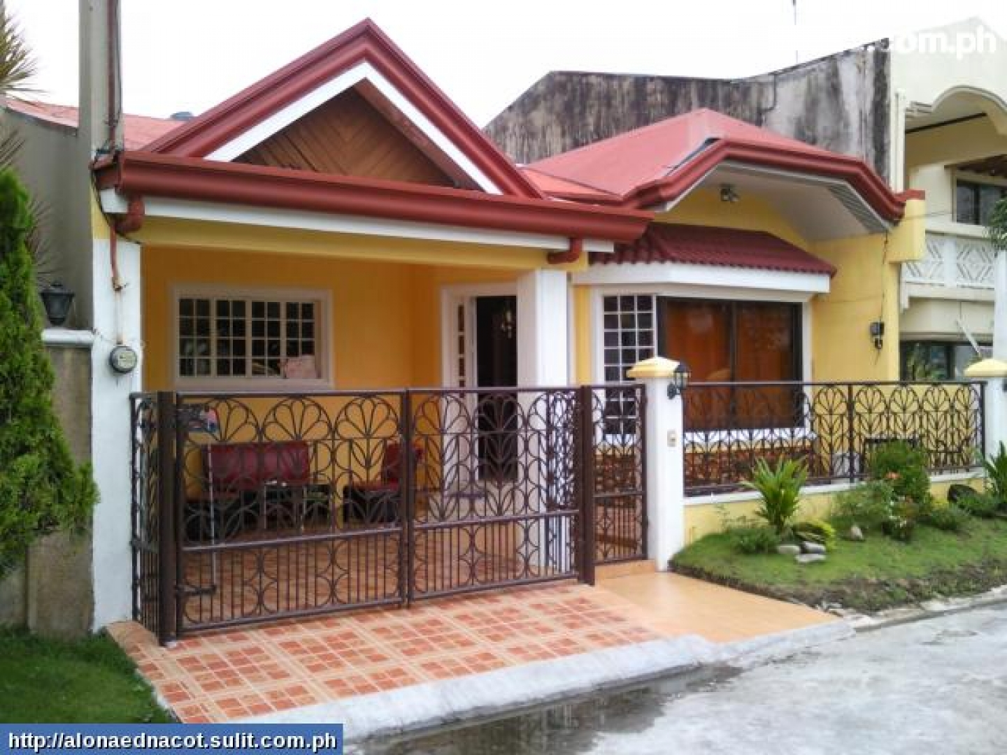 Bungalow House Plans Philippines Design Small Two Bedroom House Plans