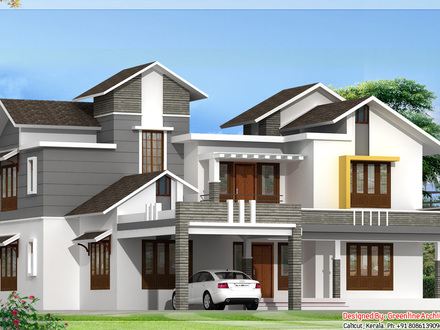 Kerala 3 Bedroom House Plans New Kerala House Models