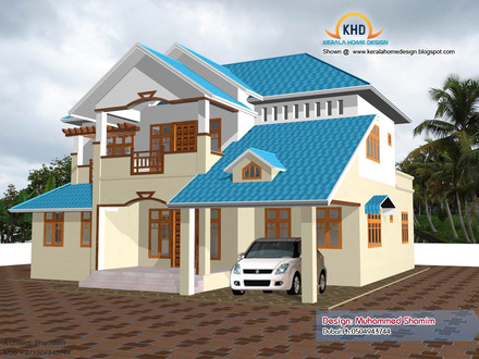 New 3D Home Design Plans New Home Design Plans