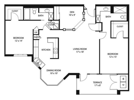 Square foot symbol 1300 square foot open floor plans 1300 for Cost to build 1300 square foot house