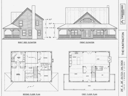 Saltbox House Plans Colonial Saltbox Home Plans