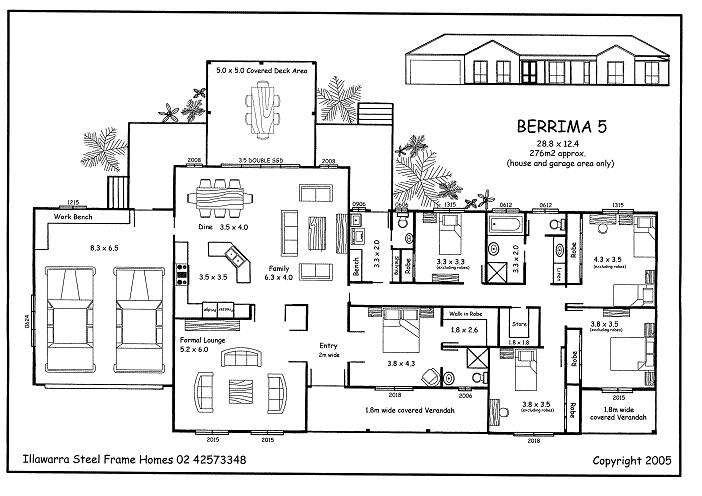 Simple 5 Bedroom House Plans 5 Bedroom House Plans