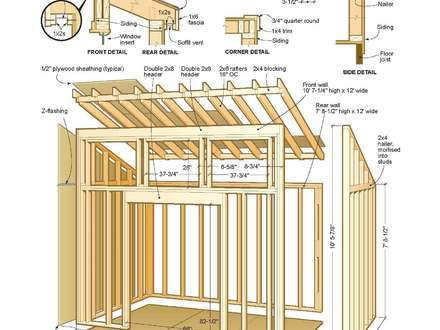 Storage Shed Plans Simple Shed Plans